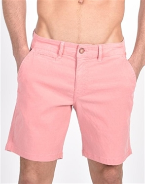 Pink Slim Fit Jaquard Shorts|Eight-x Luxury Slim Fit Shorts