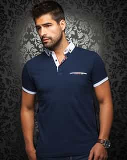Designer Polo Shirt - Navy
