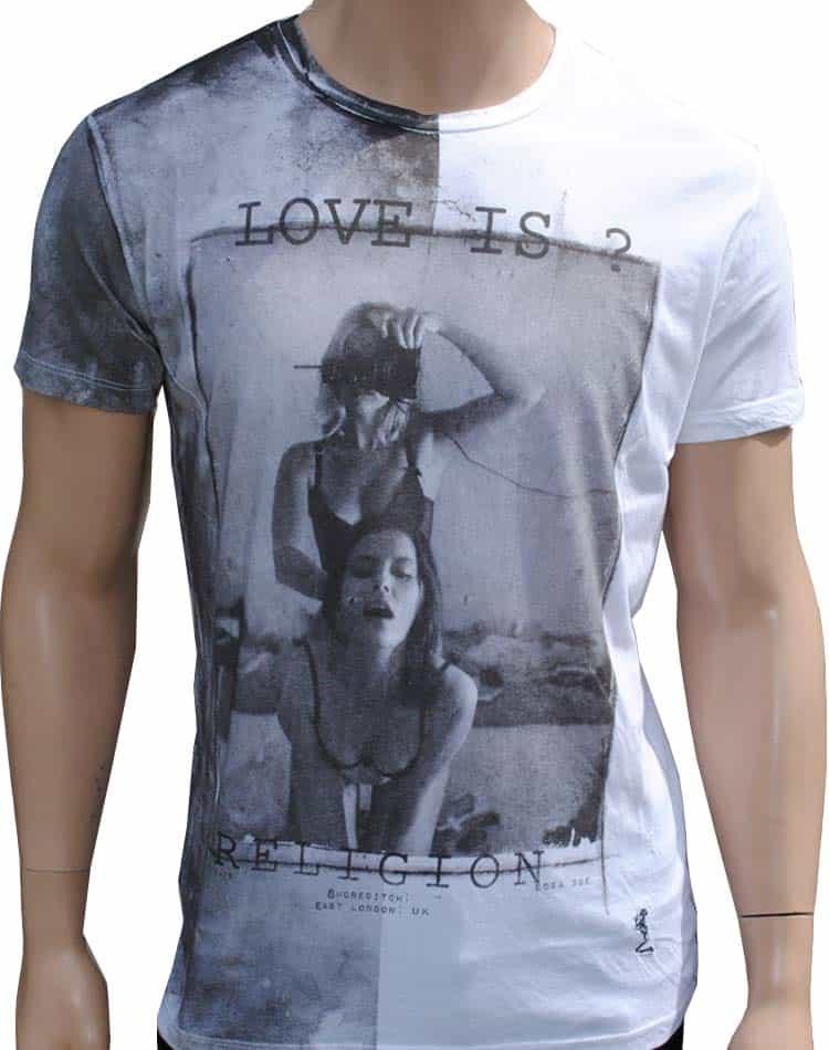2f22d788e men designer t shirt by religion clothing