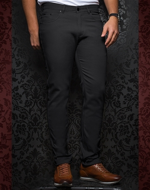 Fashionable Dark Grey Pants - Remington Charcoal