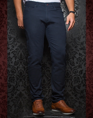 Fashionable Navy Pants - Remington Navy