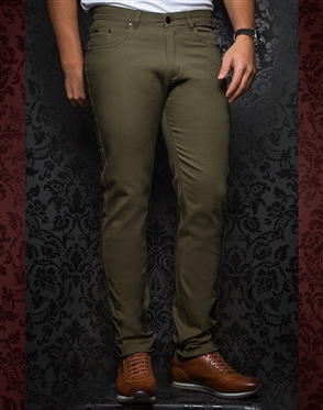 Fashionable Dark Green Pants - Remington Olive