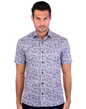 Sultry Men's Tropical Summer Shirt