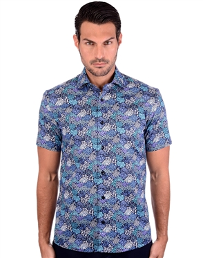 Smooth Spring Men's Fashionable Woven Shirt