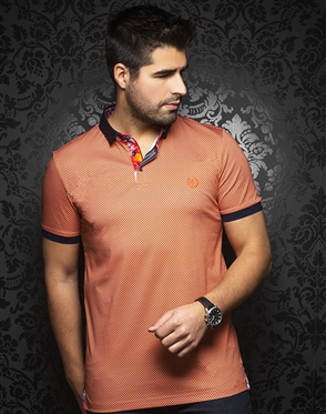 Au Noir Polo | Sierra Orange