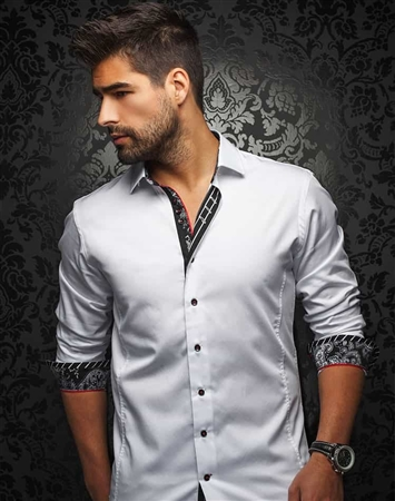 Designer Dress Shirt - White