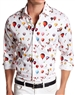 Shop Men Stylish Shirts | White Red Air Balloons