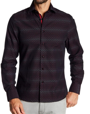 Red Dot Casual Dress Shirt