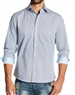 Men Light Blue Shirt with Bay Blue Accents