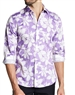 Casual Shirt: Lavender Button Down Shirt