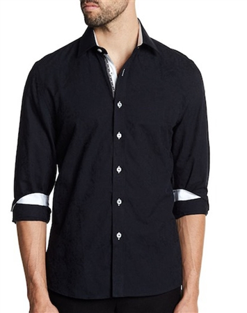 Dress Shirts: Black Dress Premium Dress Shirt