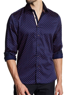 Casual Mutlicolor Dress Shirt- Button Down