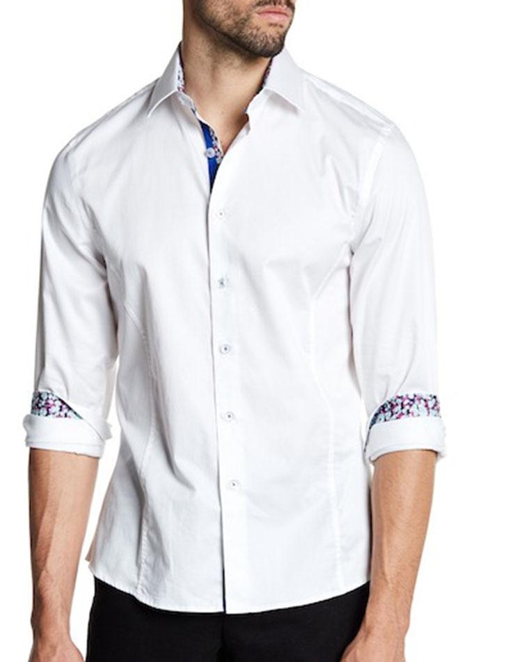 29db45eb658 TR Premium Designer Shirts 839 White