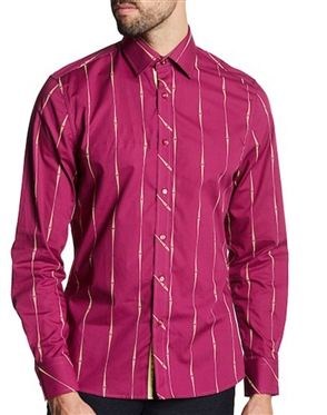 Flashy Shirt: Flashy Purple Button Down