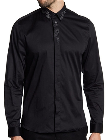 Black Luxury Designer Shirt