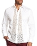 Fashion-Forward Mens Dress Shirt White