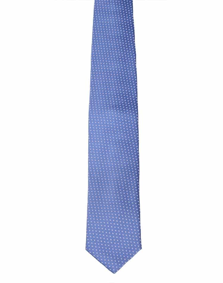 blue dot necktie designer men neckwear bertigo
