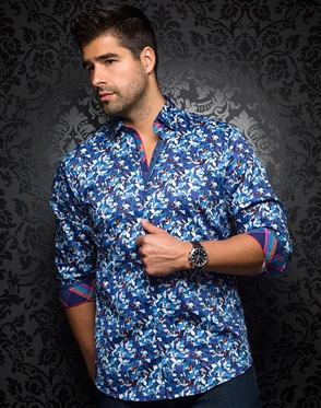 Sporty Dress Shirt - Tavarone Blue