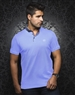 Luxury Sport Polo - Teddy Light Blue