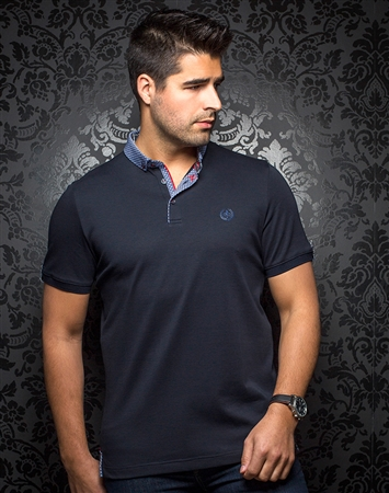 Luxury Sport Polo - Teddy Navy
