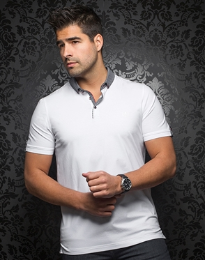 Luxury Sport Polo - Teddy White