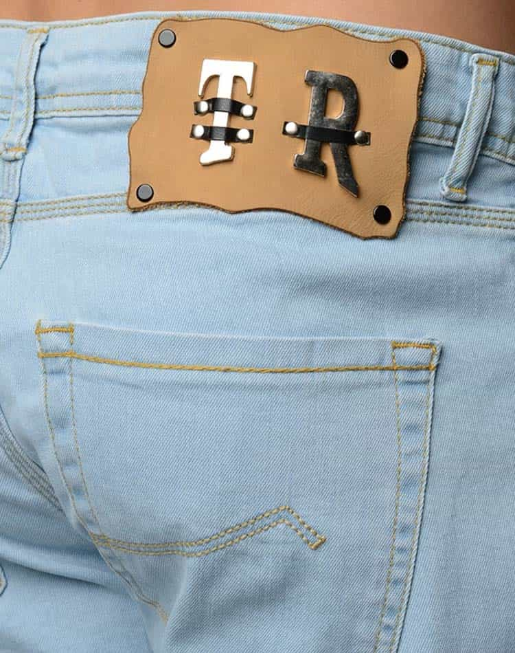 50ce03a843 t r premium designer light blue denim jeans