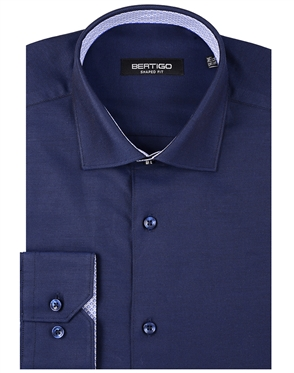 Elegant Blue Dress Shirt