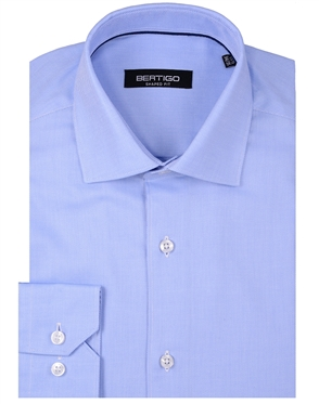 Designer Blue Dress Shirt