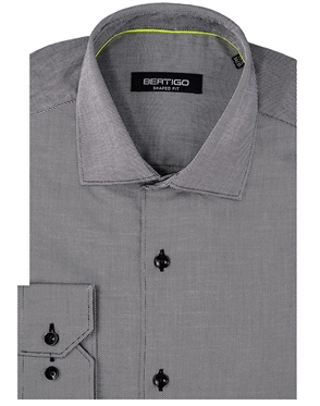 Luxury Grey Dress Shirt