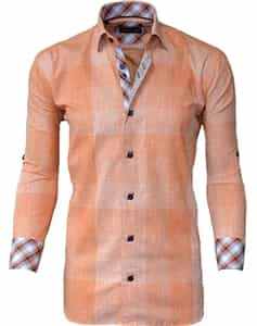 via uomo shirt revenna orange