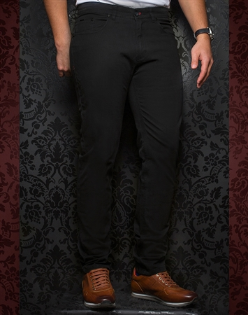 Designer Black Pants - Walter Black