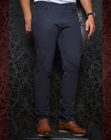 Designer Black Pants - Walter Midnight