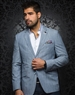 Luxury Light Blue Blazer
