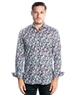 Luxury Dress Shirt - Colorful Floral Button Down