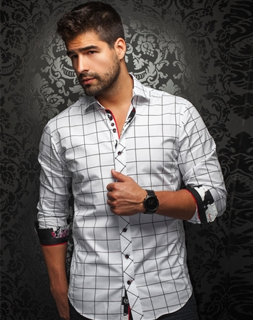 Men Slim fit Dress Shirt | Au Noir