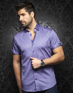 Au Noir Shirt Zolo-ss-purple