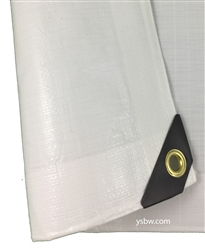 8x10 White Heavy Duty Tarp.
