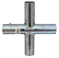 "Canopy Fitting 1 5/8"" Cross"