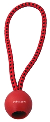 "Premium Quality Red Ball Bungee 6"" 10pcs"