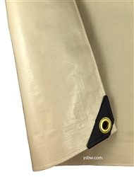 12x40 Heavy Duty Tan Tarp
