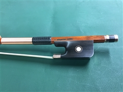 Cello Bow - Arcos Brasil Pernambuco Gold Fitted