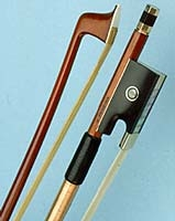 Violin Bow - Arcos Brasil - Pernambuco Bow - Gold Fitted Fitted