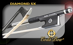 Cello Bow Coda SX Diamond series Carbon Fiber