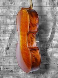 Calin Wultur model #6 Poplar 'Piatti Stradivari' 4/4 Cello