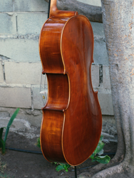 Calin Wultur model #6 'Piatti Stradivari' Willow 4/4 Cello