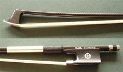 Viola Bow - CodaBow NX Diamond series - Carbon Fiber