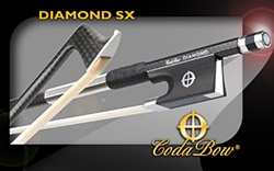 Viola Bow - CodaBow SX 'Diamond series' - Carbon Fiber