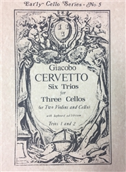 6 Trios for 3 Cellos (or 2 Violins and Cello) (Trios 1 and 2)