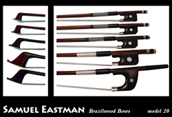 Viola Bow - Eastman Brasilwood Model 20