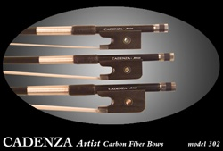 Cadenza * Artist Diamond Weave Carbon Fiber Bow  - CELLO